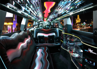 Charger Limo Interior