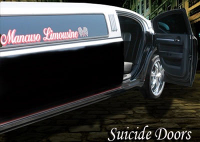 Suicide Doors on Limo